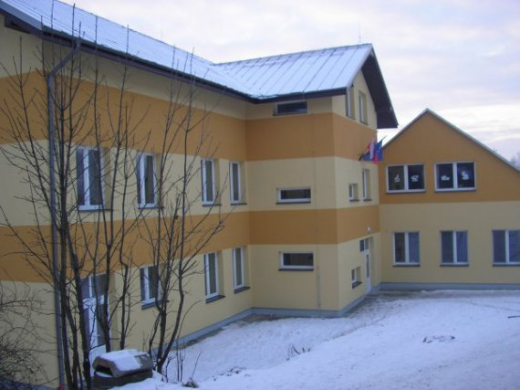 zrekonštruovaná budova